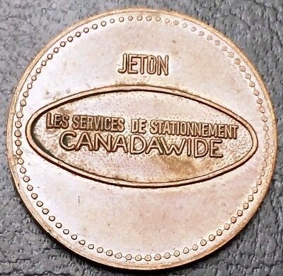 Canadawide Parking Services Token - Mint Condition - VERY SCARCE