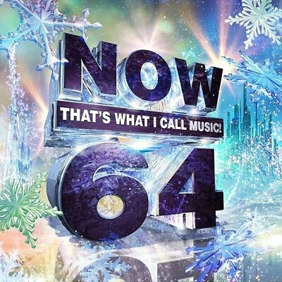 Now That's What I Call Music! 64 (Cd, 2017) New