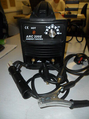 ARC WELDER  MMA WELDER  200 E amp 12 mth uk warranty new reduced last few