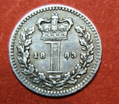 Great Britain : Maundy Penny 1883.