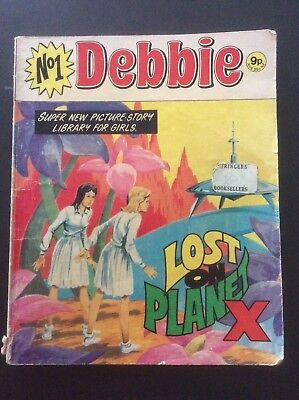 DEBBIE PICTURE STORY LIBRARY - no 1 - Lost on Planet X - 1978