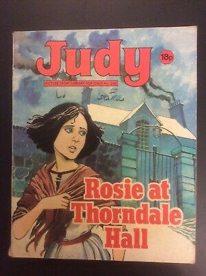 JUDY PICTURE STORY LIBRARY - no 240 - Rosie of Thorndale Hall - 1983