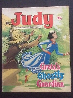 JUDY PICTURE STORY LIBRARY - no 225 - Greta's Ghostly Guardian - 1982