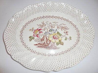 Royal Doulton Grantham Platter 13 1/4 Inches D 5477