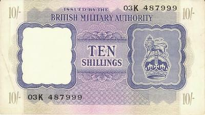 Great Britain 6 Lot Military WWII Currency Banknotes 1943