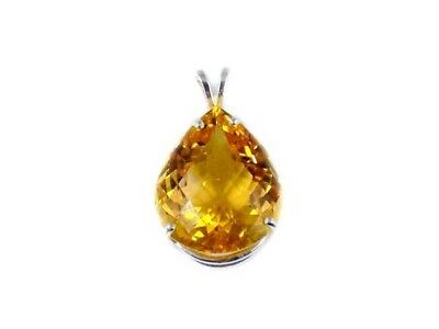 Handcrafted 28ct Scotland Citrine Ancient Silk Route Gem India Greece Rome Egypt