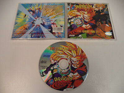 "Dragon Ball Z Video CD ""The Quest for Earth"" Speedy Dub Anime OOP VCD"