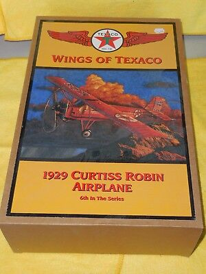 1929 Curtiss Robin Airplane, Wings of Texaco, 6th in Series