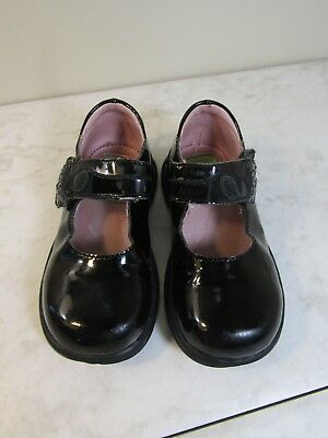 Toddler Tech by Stride Rite Tania Black Patent Mary Jane Shoes Children's 7.5 W