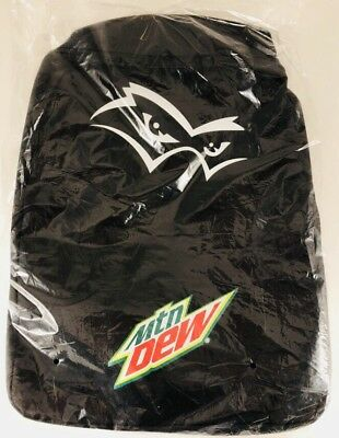 New! Mountain Dew Promo Black Backpack