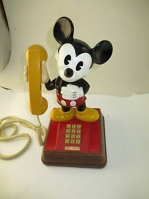 Vintage The Mickey Mouse Phone