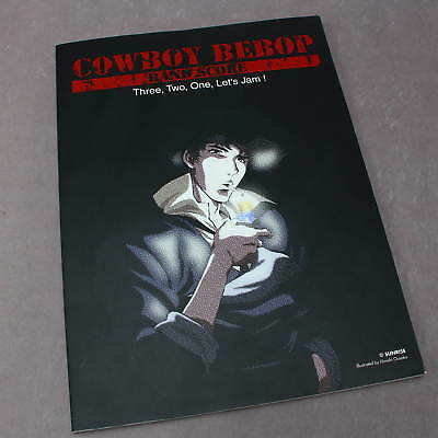 Cowboy Bebop Music Score 3. 2. 1. Let's Jam Japan Anime Band Book