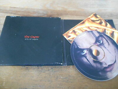 CD OST The Crow - City Of Angels : Ltd Edition (15 Song) Promo MIRAMAX HOLLYWOOD