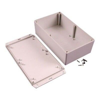 Hammond 1591XXEFLGY FRABS Enclosure Flanged Lid 193 x 113 x 61mm Grey