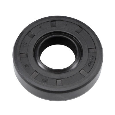 Oil Seal, TC 15mm x 35mm x 8mm, Nitrile Rubber Cover Double Lip