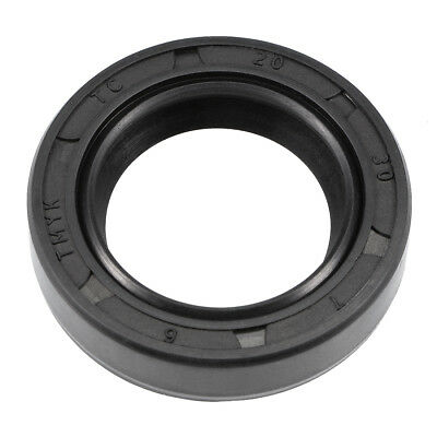 Oil Seal, TC 20mm x 30mm x 7mm, Nitrile Rubber Cover Double Lip