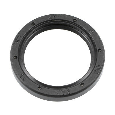 Oil Seal, TC 20mm x 26mm x 4mm, Nitrile Rubber Cover Double Lip