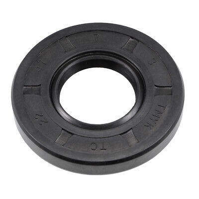 Oil Seal, TC 22mm x 47mm x 7mm, Nitrile Rubber Cover Double Lip