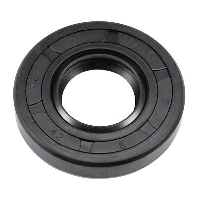 Oil Seal, TC 20mm x 42mm x 8mm, Nitrile Rubber Cover Double Lip