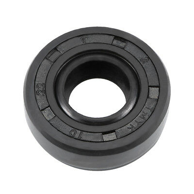 Oil Seal, TC 10mm x 22mm x 7mm, Nitrile Rubber Cover Double Lip