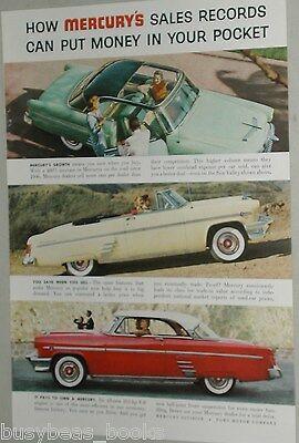 1954 Mercury advertisement, Mercury Sun Valley, convertible, hardtop photos