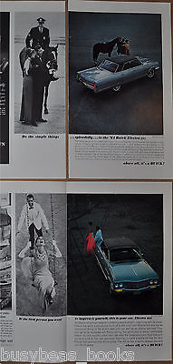 1964 BUICK ELECTRA advertisements x2, 1.5 pages each, Buick Electra 225