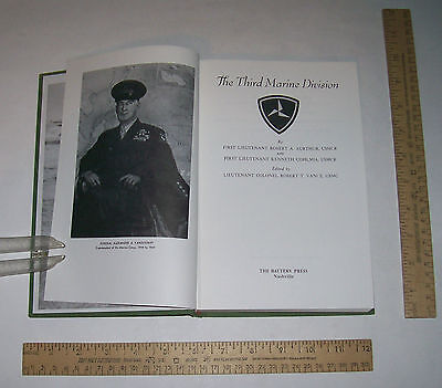The THIRD MARINE DIVISION - The BATTERY PRESS illustrated hb - Elite Unit Series