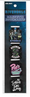 Riverdale TV Series Set of 4 Different Magnetic Bookmarks NEW SEALED