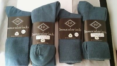6 x Vintage H.J Immaculate 1970s Men's 60% New Wool - 40% Nylon, Shoe Size 7-11