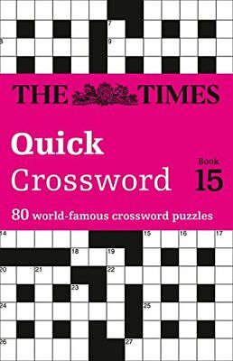 Times 2 Crossword: Book 15-Times Uk