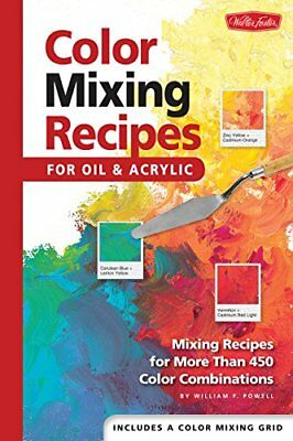 Color Mixing Recipes: Mixing Recipes for More Than 450 Colour Combinations-Willi