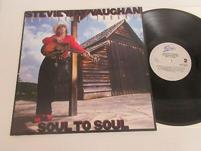 Stevie Ray Vaughan And Double Trouble/soul Lp Netherlands Epic 26441