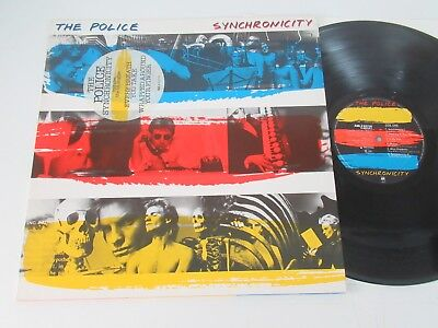 The Police/synchronicity Lp Uk A&m Records Amlx 63735