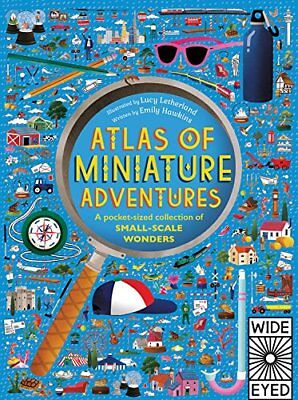 Atlas Of: Atlas of Miniature Adventures: A Pocket-Sized Collection of Small-scal