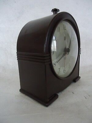 Vintage Smiths Sectric Electric Bakelite Alarm Clock. Spares Or Repair