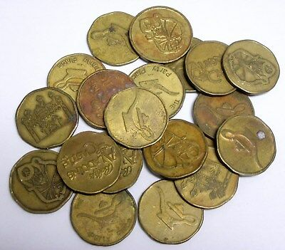 20 Circulated Bally's Aladdin's Castle Tokens