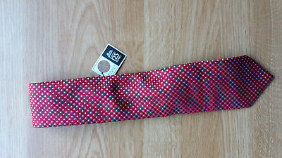 M&S BNWT Tie Navy, Cream and Red M&S Celebrating 125 Years