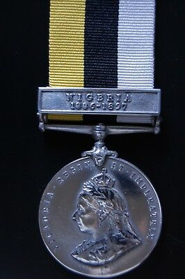 Sterling Silver Royal Niger Company's Medal 1899