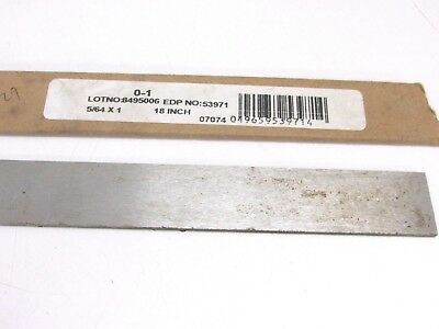 "FS0193A 7//16/"" x 1-1//2/"" x 18/"" OIL HARDENING PRECISION GROUND FLAT STOCK"