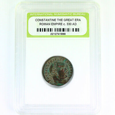 High Quality Slabbed Ancient Roman Coin - FREE SHIPPING - 1 Coin per Qty Ordered