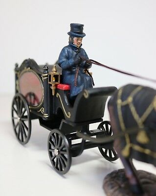 Dept 56 Horse Drawn Hearse 56.58574 All Hallows' Eve Dickens Village Ret. 2006