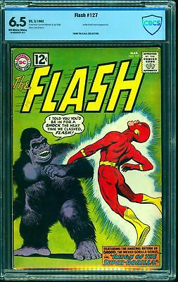 Flash #127 CBCS FN+ 6.5 Off White to White DC Comics