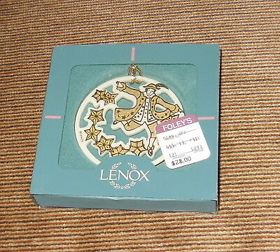 """Lenox """"10 Lords A Leaping"""" Christmas Ornament NEW in Original Box"""