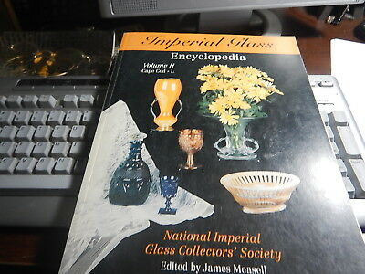 Antique reference Imperial Glass Encyclopedia Volume II