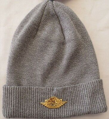 b76e1ca85be Nike Air Jordan Jumpman Beanie Hat Grey 801770 063 Adult Unisex Knit Cap  Nwot