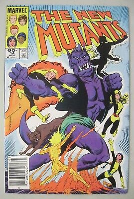The New Mutants #14 Newstand Variant 1984 Marvel Comics 1St Appearance Of Magik