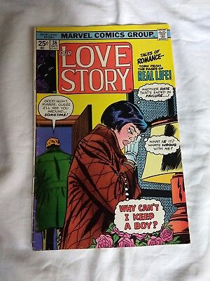 our Love Story Comic # 36