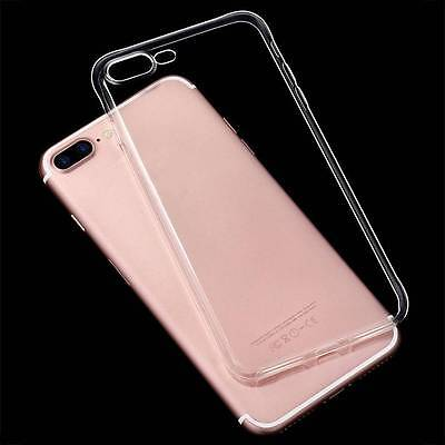 Ultra-Thin Clear Soft Silicone TPU Transparent Case Cover For iPhone 6S 7Plus XR