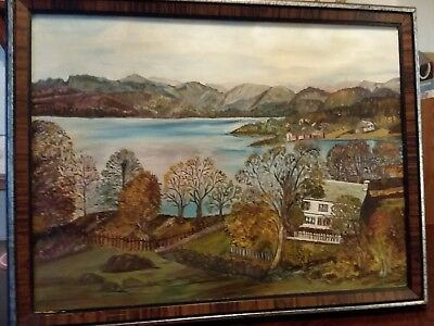 Vintage Oil On Canvas Signed O Tanner