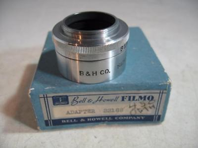 Bell & Howell Filmo Size 5 Short Lens Hood & Filter Holder In Original Box #B